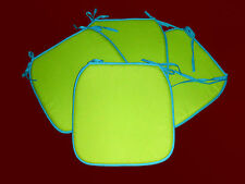 4 er SET Stuhlkissen Sitzkissen Gartenkissen Polster Kissen Stuhl auflagen