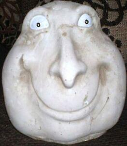 Latex Craft Moule souriant Stoneface Homme Décoration De Jardin Art /& crafts Hobby