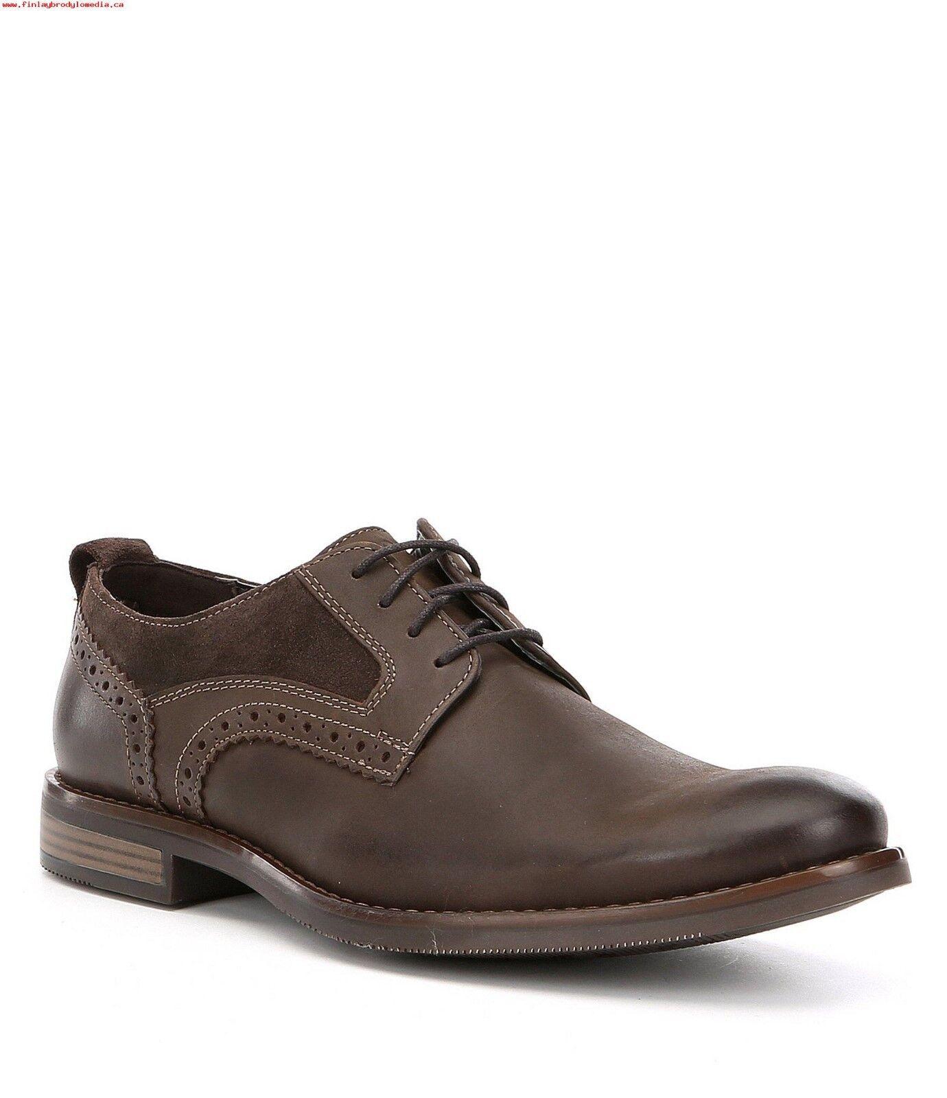 risparmia fino al 70% di sconto Rockport Uomo Uomo Uomo Wynstin Plain Toe Oxfords Dimensione 8 Dark Marrone Leather  outlet
