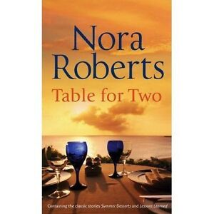 Table-for-Two-Summer-Desserts-Lessons-Learned-Roberts-Nora-Used-Good-Book