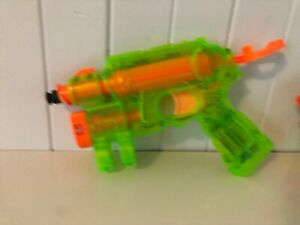 Nightfinder-Ex3-Sonic-Green-Clear-Nerf-Blaster-Working-Night-Finder-Rare-Ammo