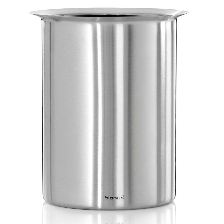Blomus Flaschenkühler LOUNGE, Edelstahl matt, mit 4 Kühlakkus