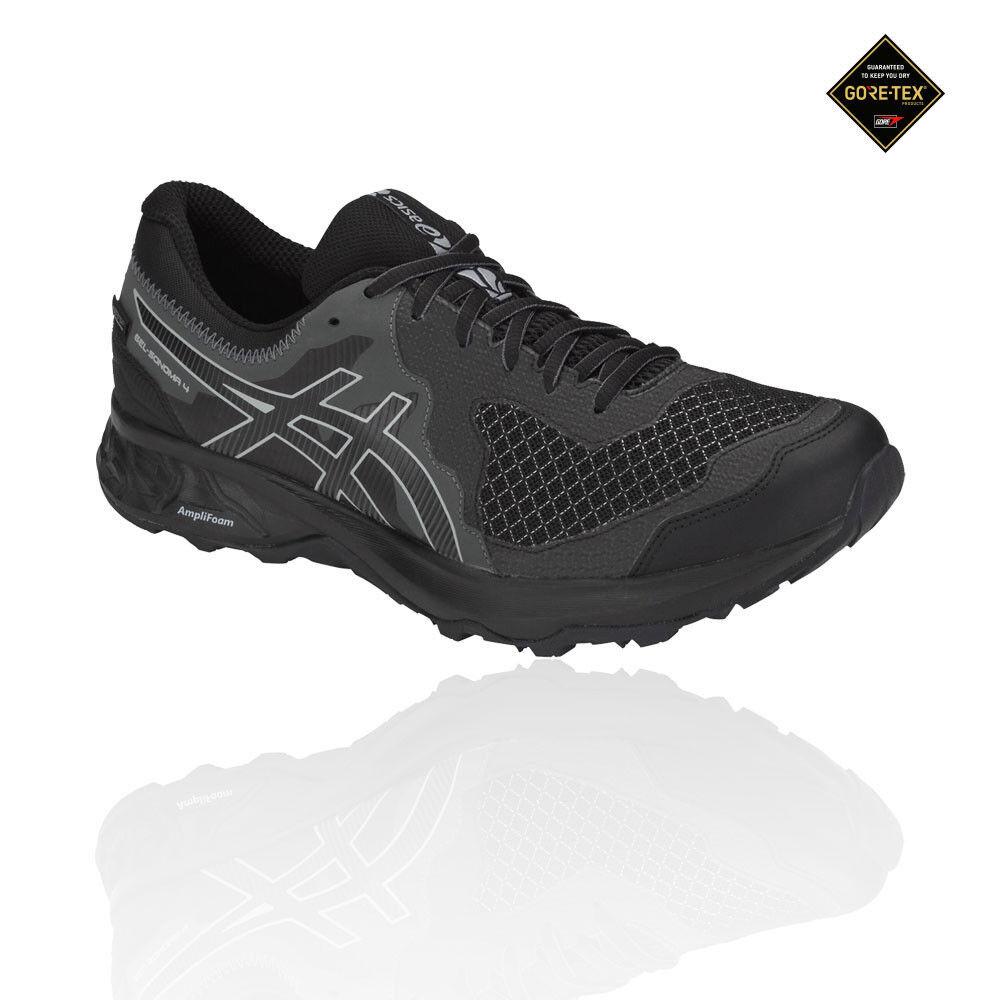 Asics Homme Gel-Sonoma 4 Gore-Tex Trail Chaussures De Course À Pied Baskets Noir