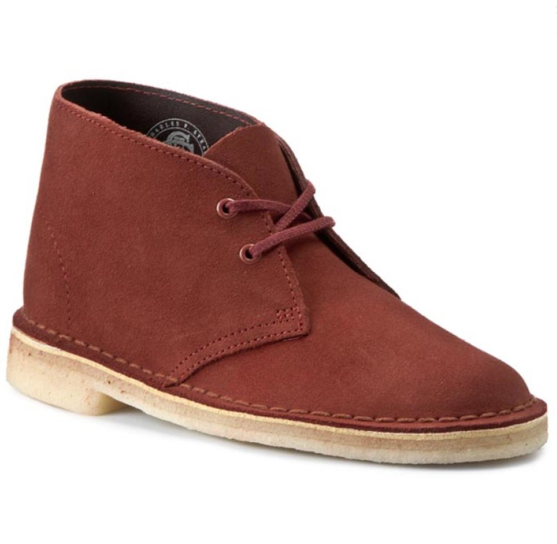 Clarks Original Desert Boot Mens UK 10 G EU 44.5 Terracotta Suede Lace Up Boots