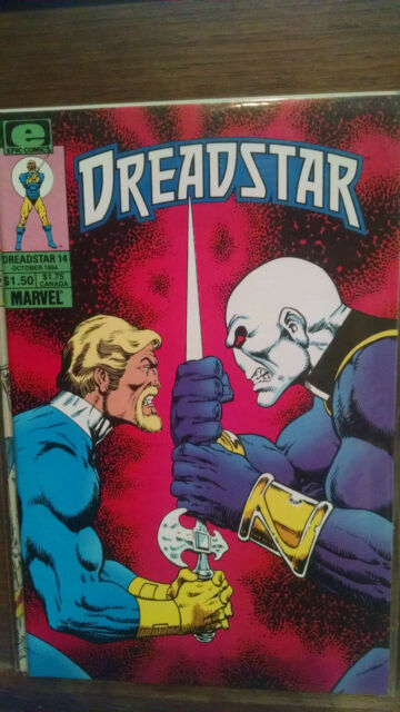 DREADSTAR #14--1984 JIM STARLIN MARVEL  NEAR MINT--SHIPS IN 1 DAY