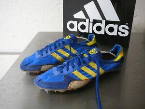 Details zu adidas vintage Sprint Spikes UK 10,5 Made in West Germany 80 s