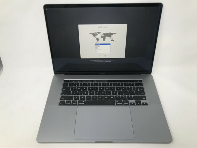 MacBook Pro 16-inch Space Gray 2019 MVVL2LL/A 2.6GHz i7 ...