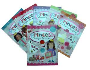Princess-6-Books-Sticker-and-Activity-Fashion-Pop-Star-Cupcake-Animal-Girl-New
