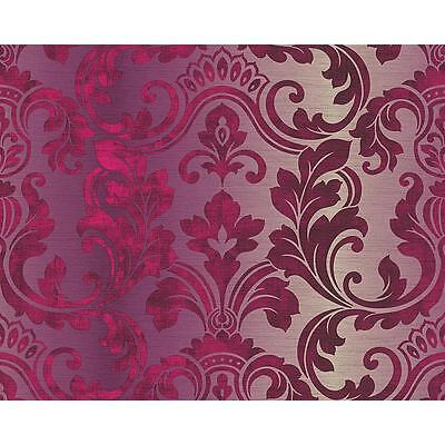 NEW A.S. CREATION INDULGENCE DAMASK CLASSIC PATTERN MOTIF TEXTURED AS WALLPAPER