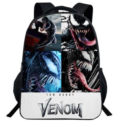 Venom Backpack School Bag Student Book Bags Shoulder Bag Knapsacks