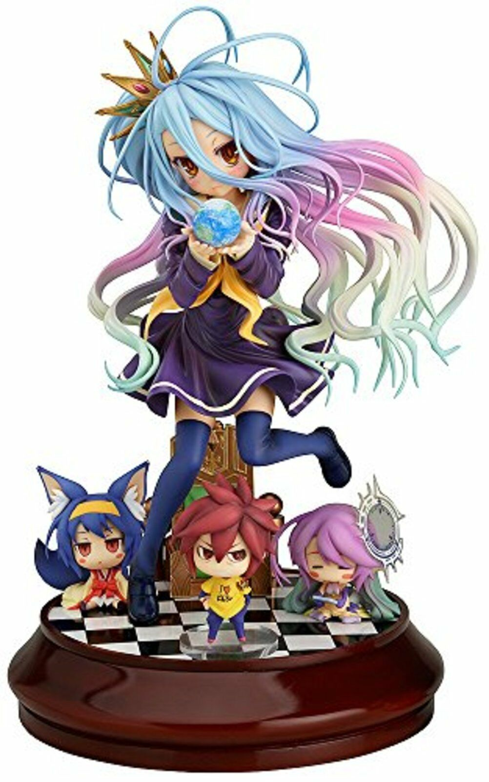 No Game No Life Weiß 1 7 Scale ABS & PVC Painted Figure F S w Tracking  Japan