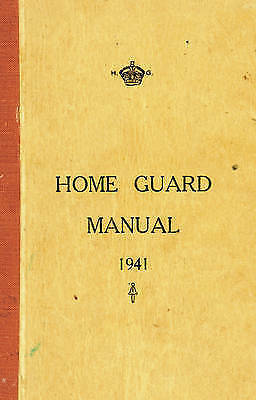 "1 of 1 - ""VERY GOOD"" The Home Guard Manual 1941, McCutcheon, Campbell, Book"