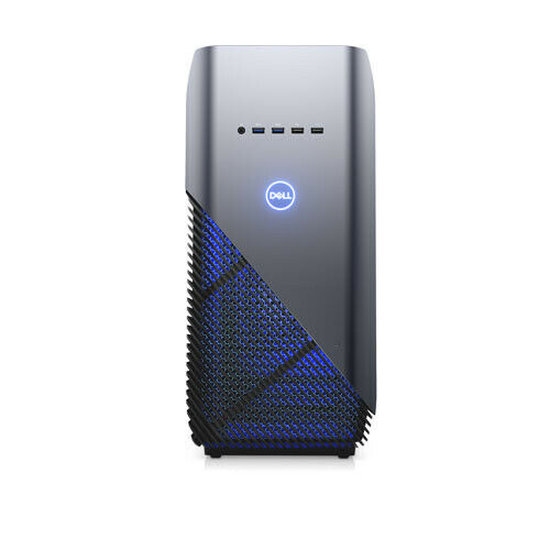 Dell Inspiron 5676 Gaming Desktop AMD Ryzen 7 16GB RAM 1TB HDD 256GB SSD RX 580