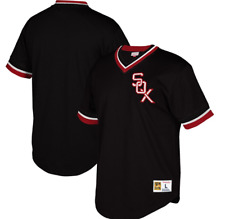Mitchell & Ness Chicago White Sox Baseball Jersey New Mens Sizes MSRP $80