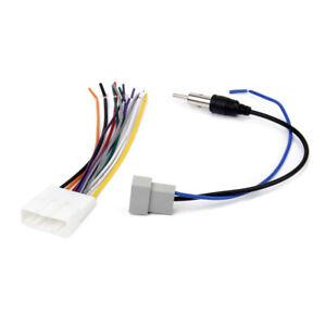 Auto-Stereo-Connettore-Adattatori-DVD-Antenna-Autoradio-Per-Nissan-Car
