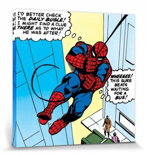 Daily Bugle Poster Leinwand-Druck Bild #82233 40x40cm Spider-Man