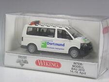 4Klasse: Wiking Sondermodell VW T5 Flughafen Dortmund IMB 2010 in OVP