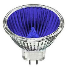 New Premium - Blue MR16 12V 20W BAB Halogen Light Bulb Flood 20 Watt