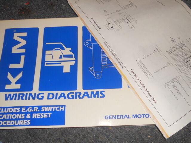 1987 Chevrolet Beretta Corsica Wiring Diagrams Schematics