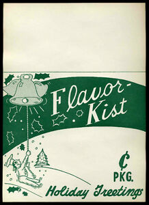 Image Is Loading 1950 039 S Flavor Kist Crackers Cookies Advertising