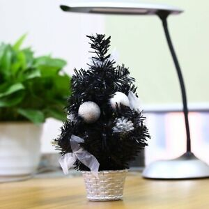 12-034-Christmas-Decoration-Winter-Holiday-Party-Mini-Tree-Ornament-Gifts-New