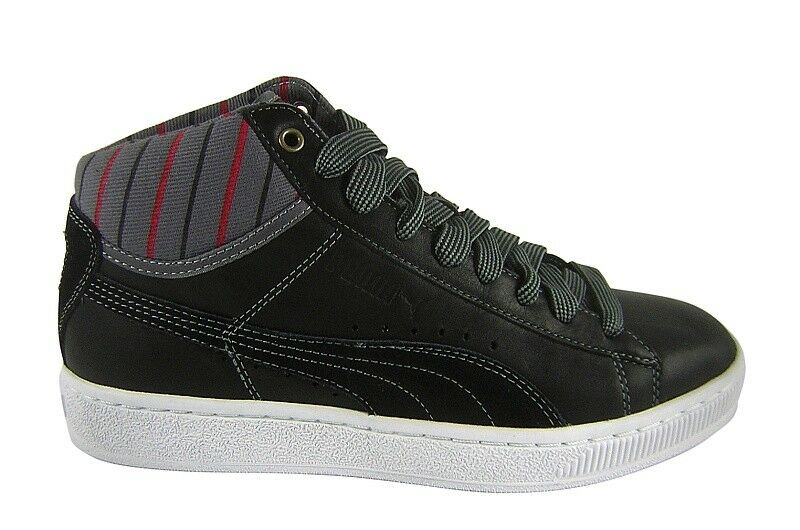 Puma Mid Worker black/steel grey Schuhe/Sneaker schwarz/grau