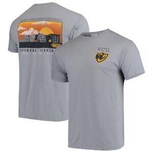 VCU-Rams-Comfort-Colors-Campus-Scenery-T-Shirt-Gray