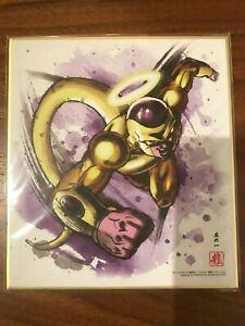 Dragon Ball Shikishi Art Part.3 No.8 Golden Freezer Japan F//S