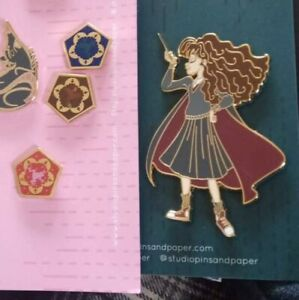 Harry Potter Hermione Granger Pin Studio Pins and Paper new enamel