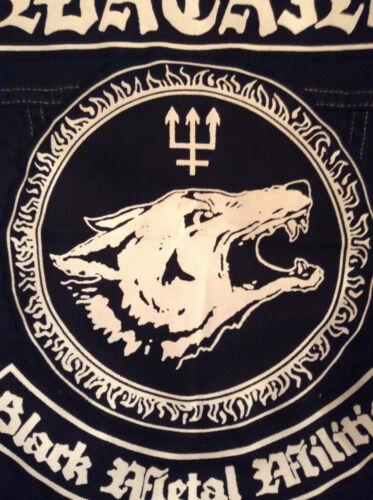 Gilet Battle Cut Wolves Black 4xl off Jacket Watain S Xx Metal Militia Denim 4wzzBq