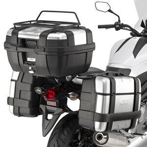 1390a84d2b GIVI LUGGAGE RACK SIDE BAGS BLACK MONOKEY HONDA NC 750X DCT 2014 ...