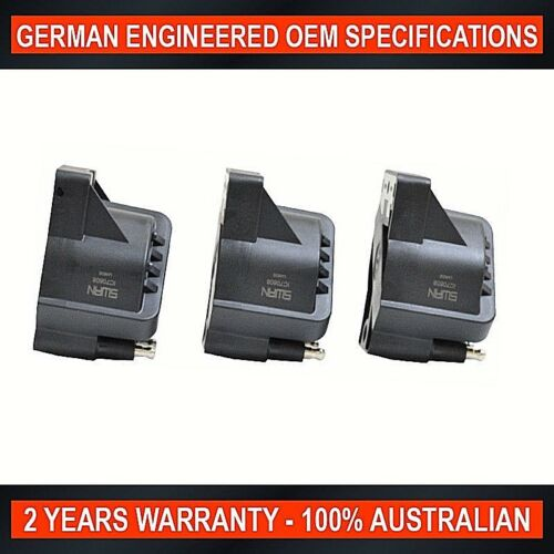 3 x Ignition Coil for Holden Commodore VN2 VP VR Ute VS VT VX VY VU VG Ute 3.8L