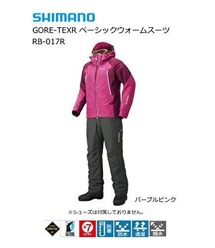 SHIMANO GORE-TEX Fishing Basic Warm Suits RB-017R  PURPLE PINK Japan EMS NEW  best quality