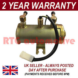 FOR-CLASSIC-RANGE-ROVER-V8-12V-ELECTRIC-DIESEL-FUEL-PUMP-FACET-RED-TOP-STYLE
