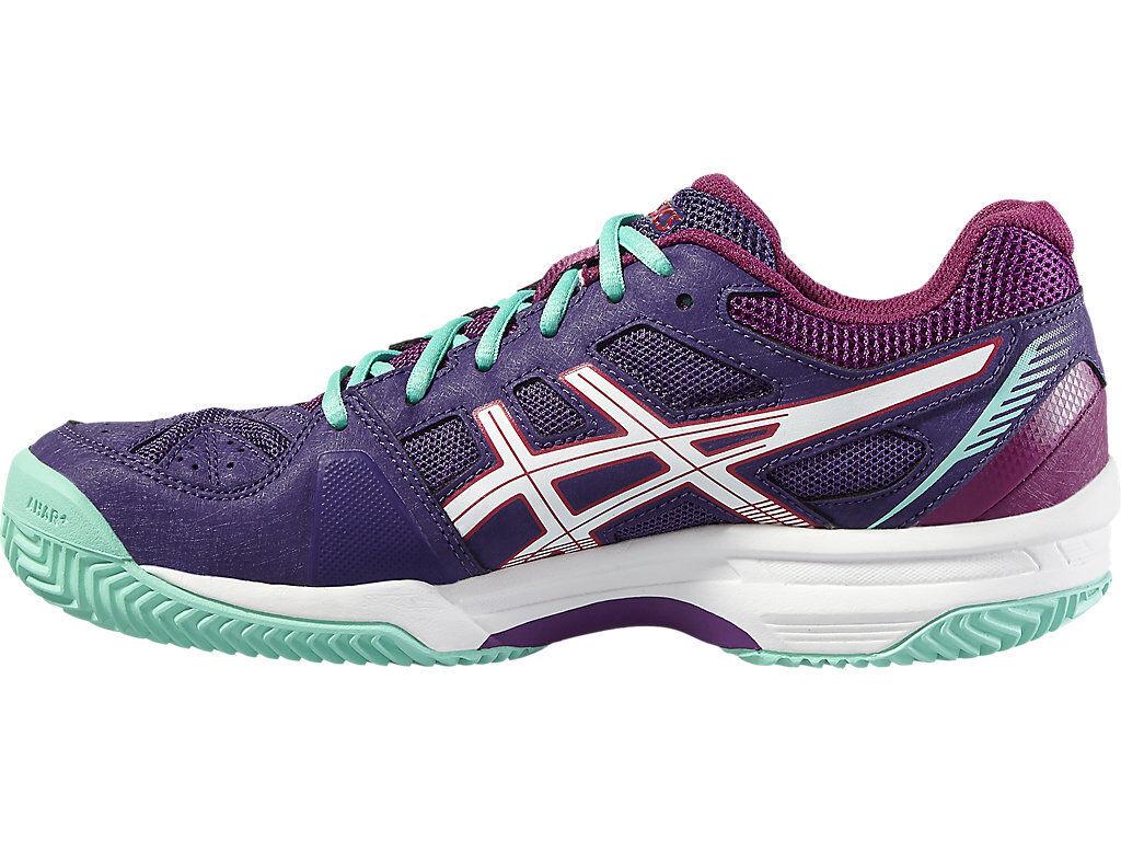 Para Mujer Asics Gel Padel Exclusive  4 SG Tennis Court zapatos Trainers Talla 7.5  opciones a bajo precio