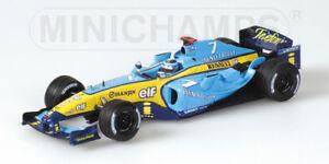 Renault R4 Formule 1 J. Trulli 2004 au 1/43 modèle Minichamps