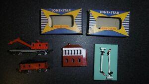 Lone Star Train N Lot De 4 Pièces Matchbox Lima Minitrix