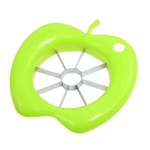 New Plastic Shell Sharp Blade Apple Cutter Piler Slicer  Corer Random Colour