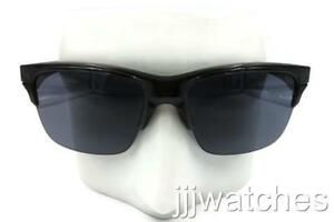 ad505e1196 Image is loading New-Oakley-Sunglasses-Thinlink-Gray-Smoke-Semi-Transparent-