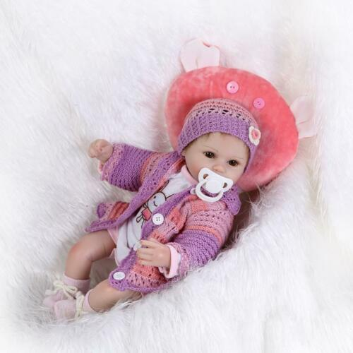 NPK soft silicone reborn baby doll toys 40cm babies bedtime toy birthday gift