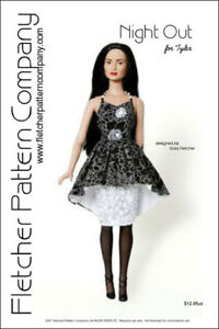 Vacation Memories Doll Clothes Sewing Pattern for Tyler Fletcher Tonner