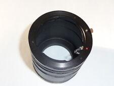 Macro Extension Tube 3 set ring for Pentax K-70 K-1 K-3II K-S2 K200D K100D K20D