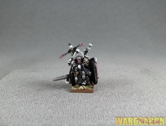 25 mm Warhammer WDS painted Guerriers  du chaos Wulfrik le vagabond t15  qualité de première classe
