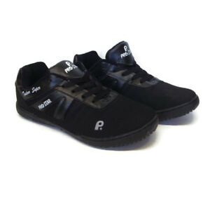 Boys-Mens-Black-Lace-Up-Causal-Sport-Gym-Fitness-Running-Walking-Trainers-Size