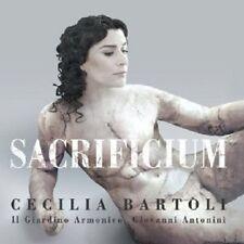 "CECILIA BARTOLI ""SACRIFICIUM(JEWEL CASE VERSION)""CD NEU"