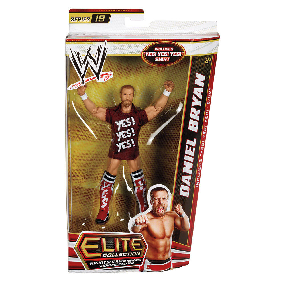 Official Mattel WWE Elite Series 19 Daniel Bryan Wrestling Action Figure