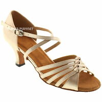 TPS Latin Ballroom Salsa Custom-made Dance Shoes D467
