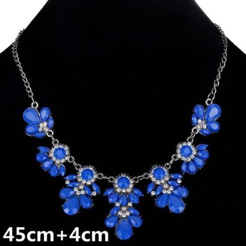 Women Fashion Necklace Pendant Choker Chunky Statement Chain Bib Wedding Jewelry