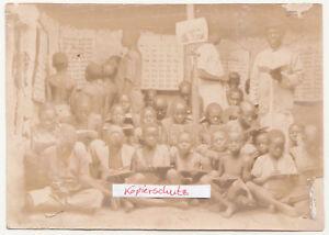 Foto-Africa-Ragazzi-IN-Il-Scuola-Colonia-Aborigeni-Volk-Nativo-Peoples-F2244