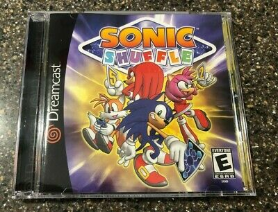 Sonic Shuffle The Hedgehog Sega Dreamcast Nm Condition Complete Free Ship 10086510607 Ebay